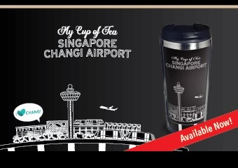 Stainless Steel Tumbler (400ml) - Singapore Changi Airport