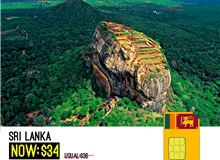 Sri Lanka Data Sim 3GB