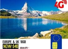 UK + EUROPE 10GB VODAFONE SIM CARD