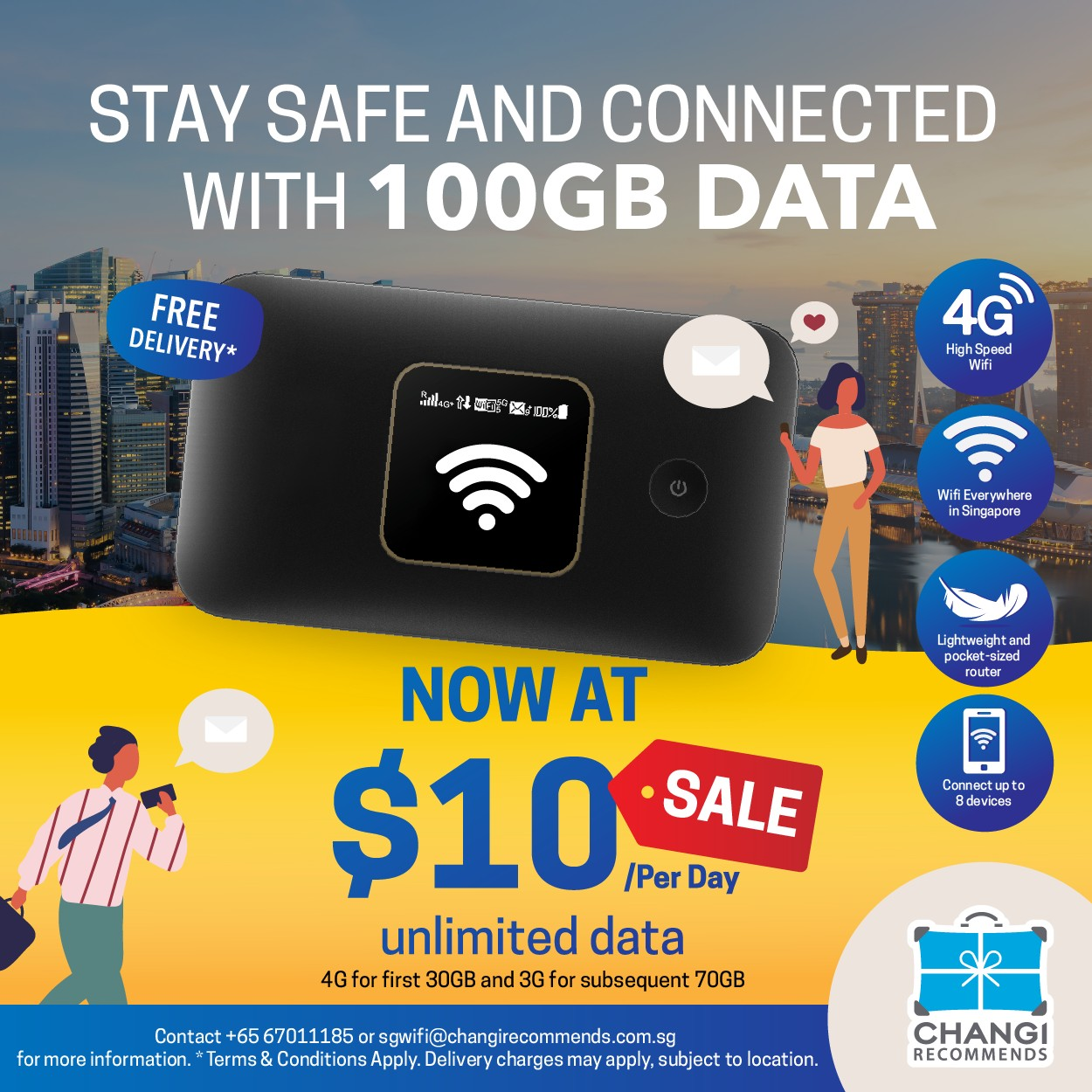 Singapore Wifi Router Rental